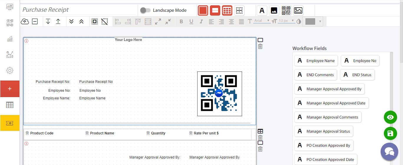custom pdf design