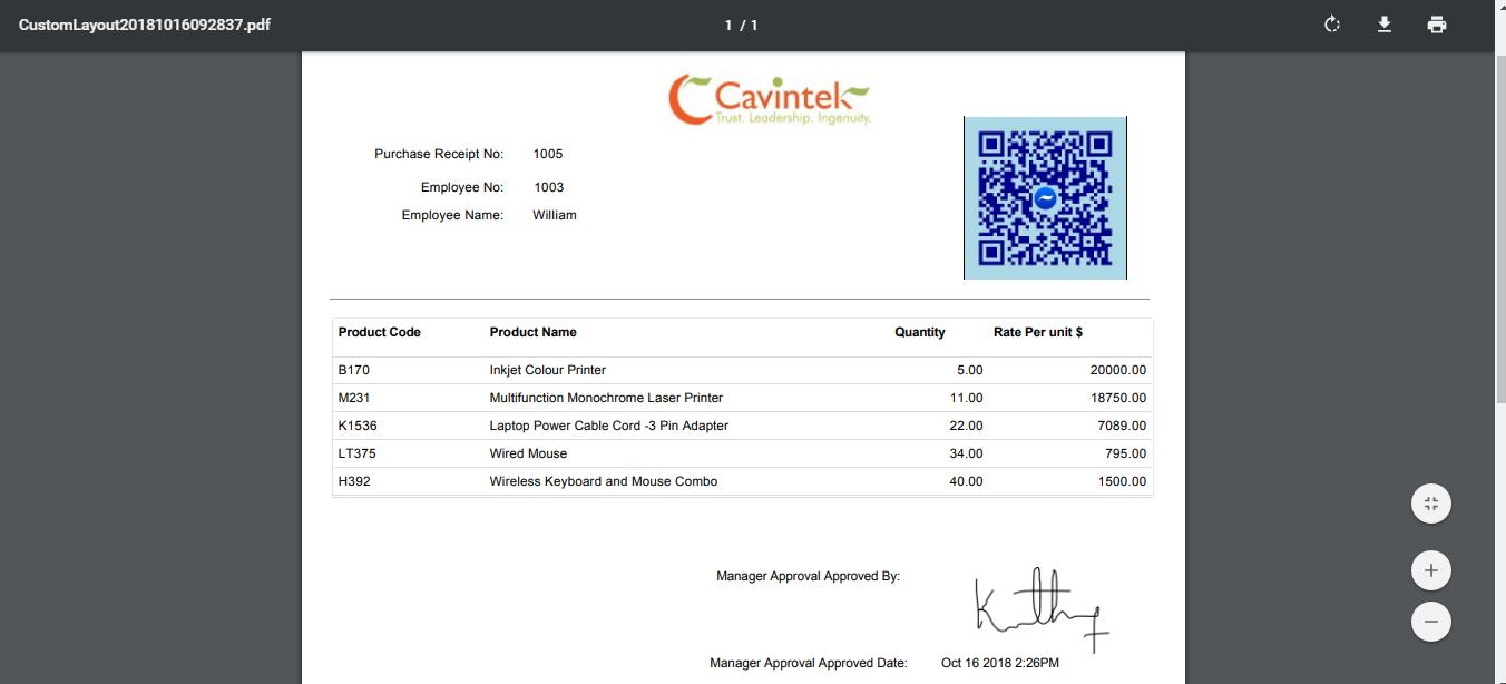 designed custom pdf