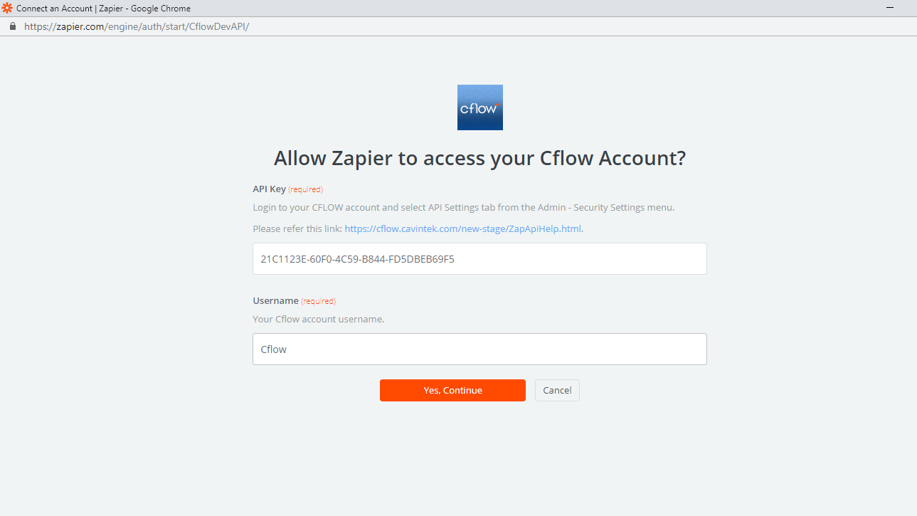 account API