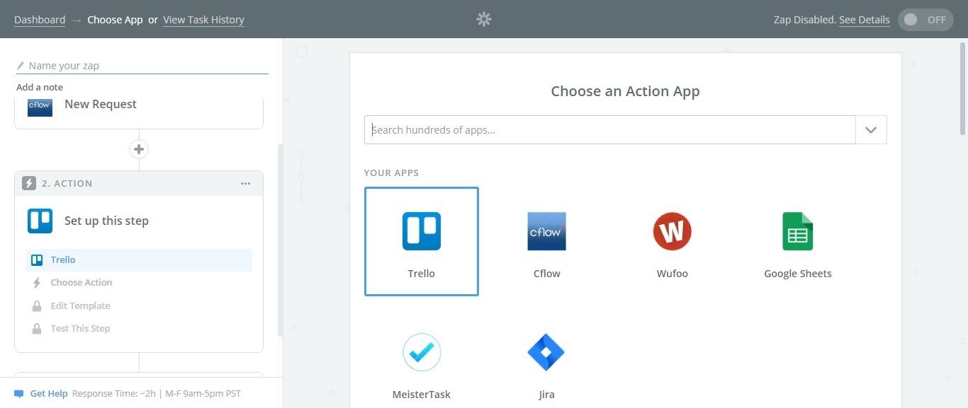 action app