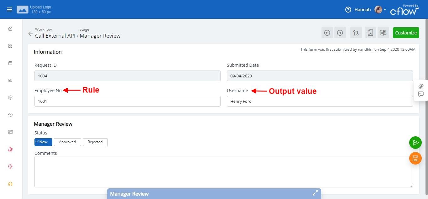form API